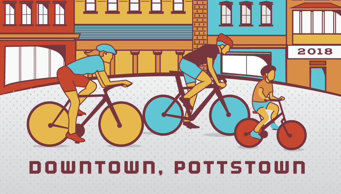 Pottstown Bike Race, Pottstown, Pennsylvania